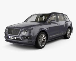 Bentley Bentayga Speed US-spec with HQ interior 2020 3D model
