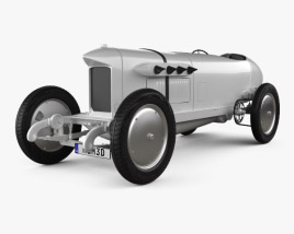 3D model of Benz Blitzen 1909