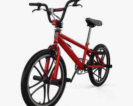3D model of Mongoose BMX Bicycle