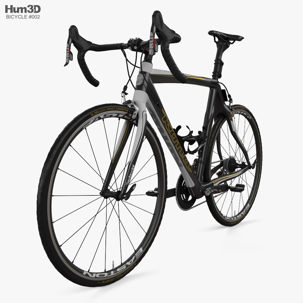 Bicycle Kona Red Zone 2013 3d model