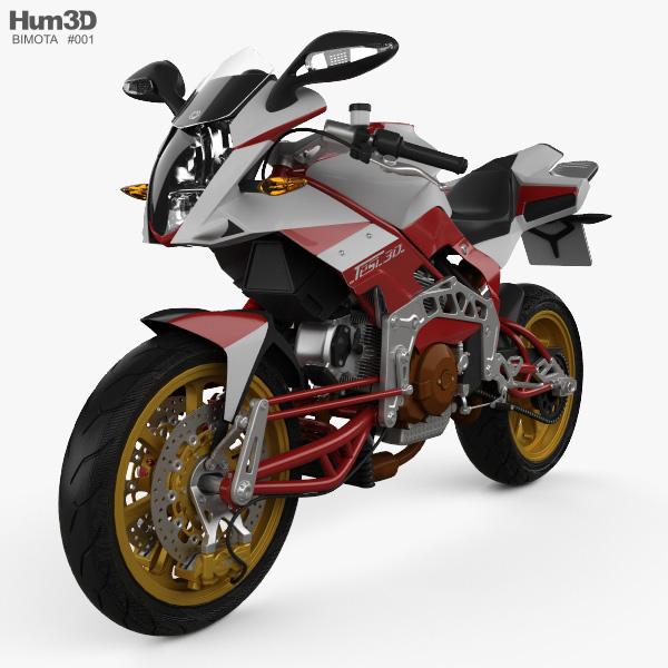 3D model of Bimota Tesi 3D 2014