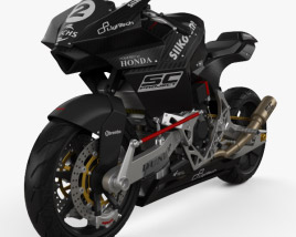 3D model of Bimota Vyrus 986 M2 2015