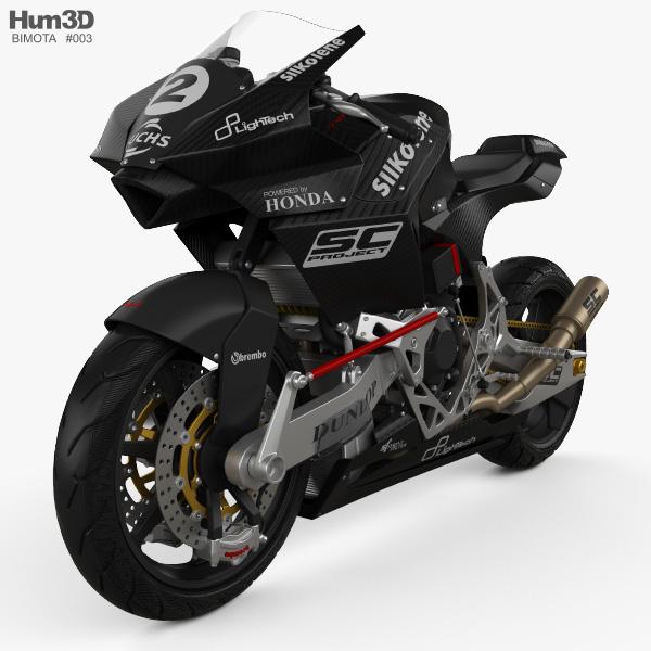3D model of Bimota Vyrus 986 M2 2015
