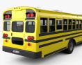 Blue Bird Vision Autocarro Escolar 2015 Modelo 3d