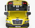 Blue Bird Vision School Bus with Wheel Chair Lift L1 2015 3d model