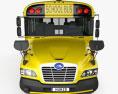 Blue Bird Vision School Bus L1 2015 3d model front view