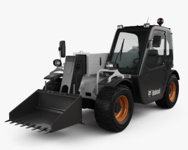 3D model of Bobcat Versahandler V417 Telehandler 2014