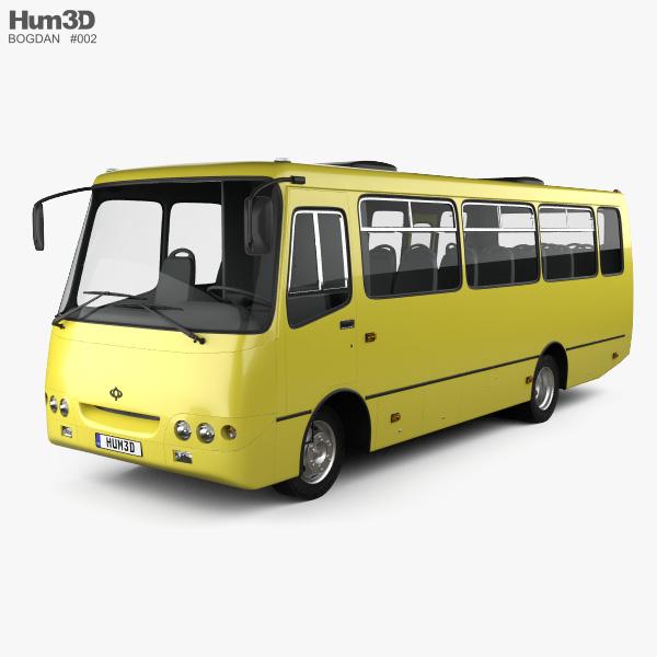 Bogdan A09202 Bus 2003 3D model