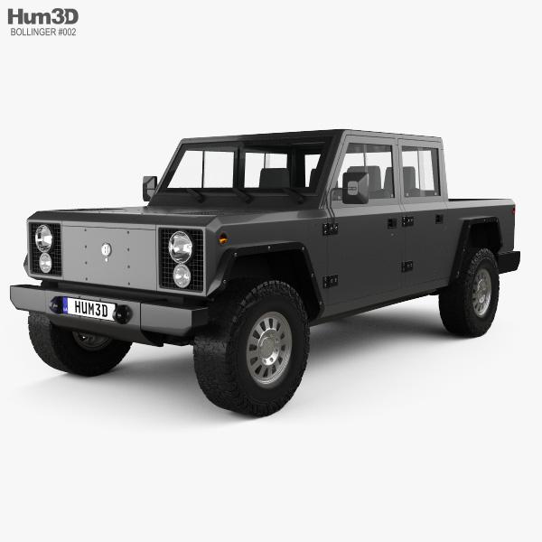 Bollinger B2 2019 3D model