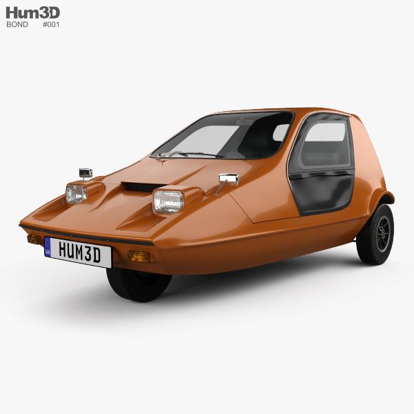 Bond Bug 1970 3Dモデル