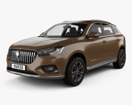 3D model of Borgward BX7 2015
