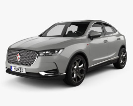 3D model of Borgward BX6 TS 2016