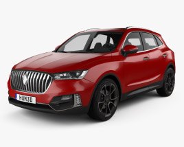 3D model of Borgward BX5 2016