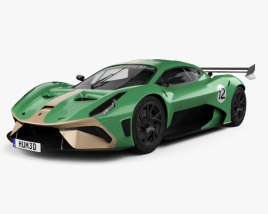 3D model of Brabham BT62 2019