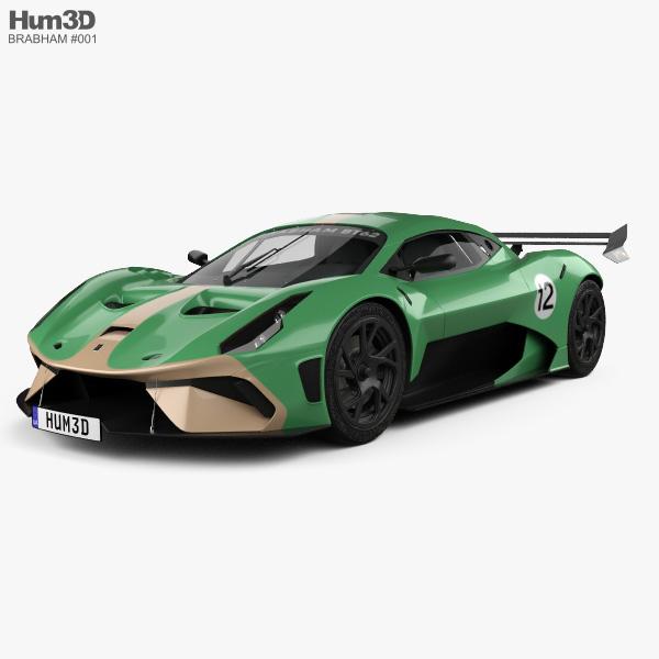 Brabham BT62 2019 3D model