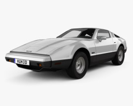 3D model of Bricklin SV-1 1974