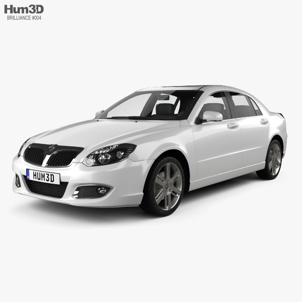 Brilliance BS4 2012 3D-Modell
