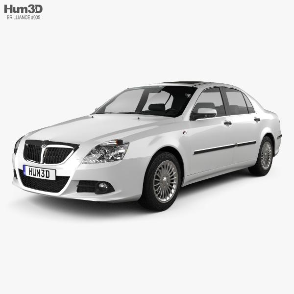 Brilliance BS6 2012 3D-Modell