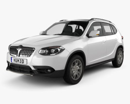 3D model of Brilliance V5 2011