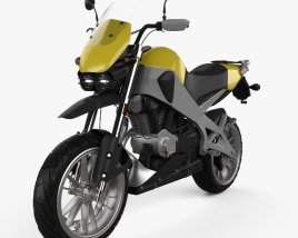3D model of Buell Ulysses XB12X Sport Bike 2009