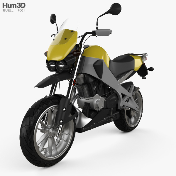 Buell Ulysses XB12X Sport Bike 2009 3D model