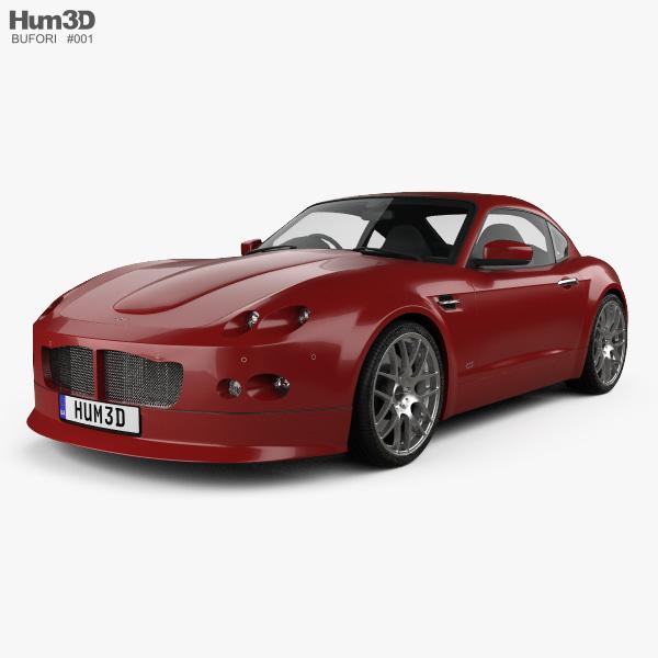 Bufori CS 2009 3D model