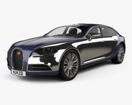 3D model of Bugatti 16C Galibier 2009