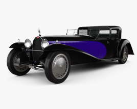 3D model of Bugatti Royale (Type 41) 1927