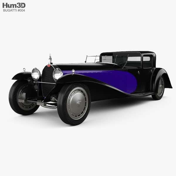 Bugatti Royale (Type 41) 1927 3D model