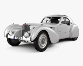 3D model of Bugatti Type 57SC Atlantic 1936