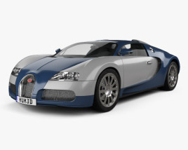 3D model of Bugatti Veyron 2005