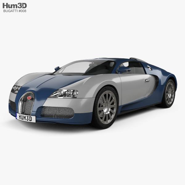 3D model of Bugatti Veyron 2005