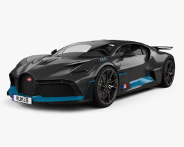 3D model of Bugatti Divo 2019
