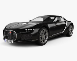 3D model of Bugatti Atlantic 2015
