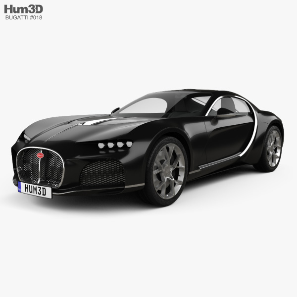 Bugatti Atlantic 2015 3D model