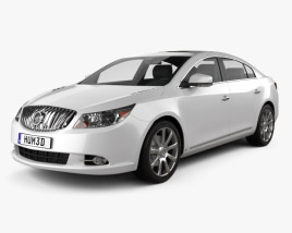 3D model of Buick LaCrosse (Alpheon) 2011