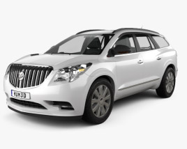 3D model of Buick Enclave 2013