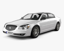 3D model of Buick Lucerne 2011