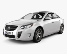 3D model of Buick Regal GS 2012