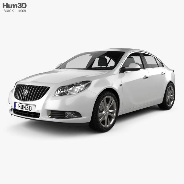 3D model of Buick Regal 2012