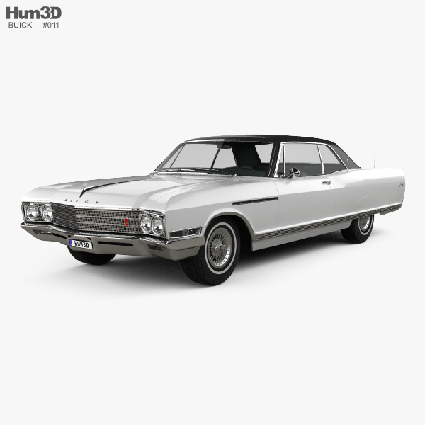 Buick Electra 225 Sport Coupe 1966 3D model