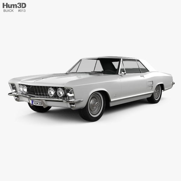Buick Riviera 1963 3D model