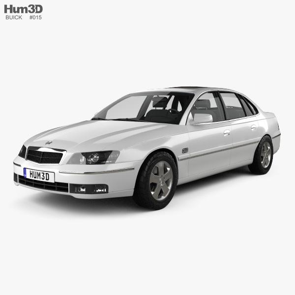 Buick Royaum 2006 3D model