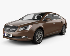 3D model of Buick LaCrosse (Allure) 2014