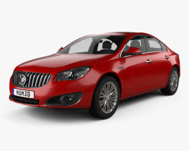 3D model of Buick Regal 2014