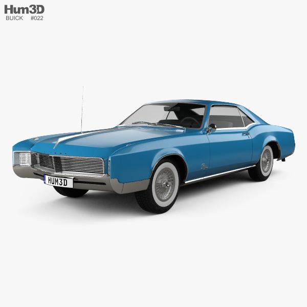 Buick Riviera 1966 3D model