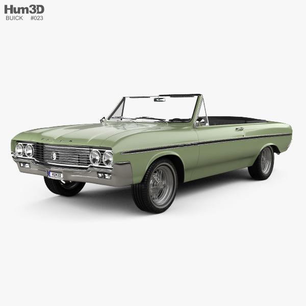 Buick Skylark convertible 1964 3D model