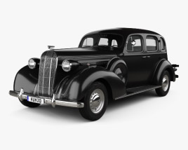 3D model of Buick Roadmaster 1936