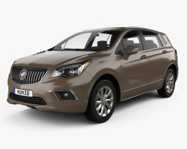 3D model of Buick Envision 2015