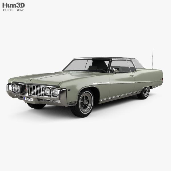 Buick Electra 225 Custom Sport Coupe 1969 3D model